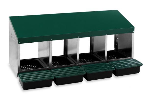Legenest aus Metall und Kunststoff (4 Abteile)