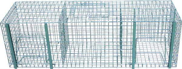 Elsternfalle - Krähenfalle - Lebendfalle (100 x 31 x 31 cm)