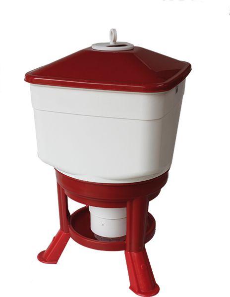 Automatische Geflügeltränke aus Kunststoff (40 l)