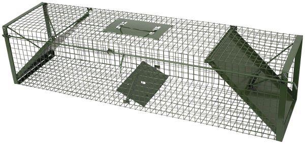 Lebendfalle - Marderfalle - Katzenfalle (100 x 24 x 24 cm)Nr70394
