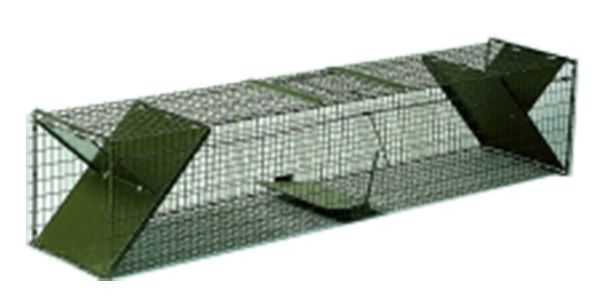 Lebendfalle - Fuchsfalle - Marderfalle (150 x 30 x 30 cm)