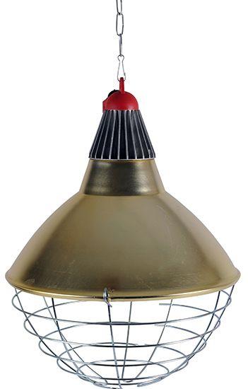 Schutzkorb Ø 30 cm (Sparschaltung) mit Infrarotlampe 250 W