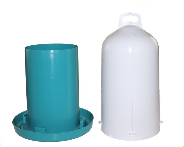 Poultry drinker (12 l) - turquoise