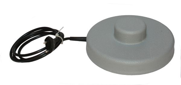 Heating Plate without thermostat - Ø 19 cm with cone