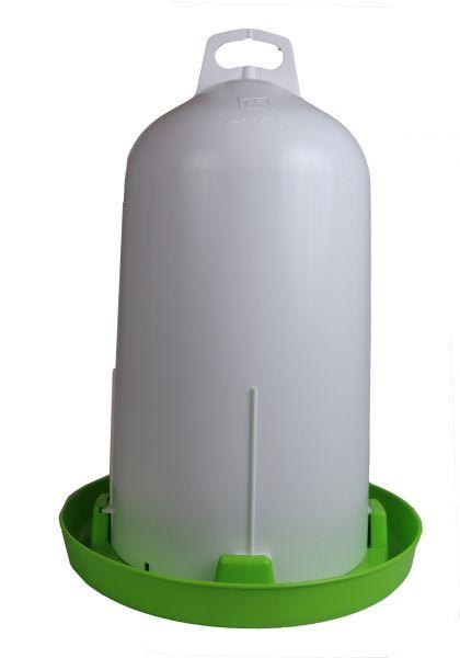 Doppelzylinder-Tränke 12l hellgrün