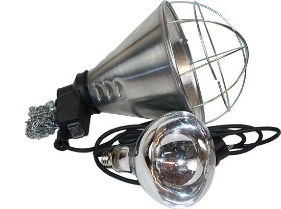 Schutzkorb (Sparschaltung) für Infrarotlampen/Dunkelstrahler ink - Bild 1