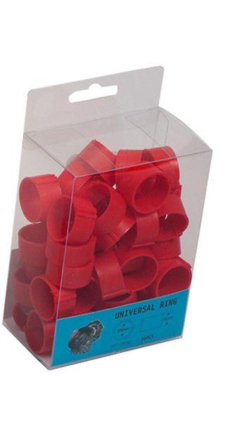 Plastic clip rings (25 mm) - 50 pcs.
