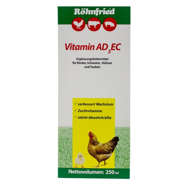 Vitamin ADEC - Vitamins for all kind of animals (250ml)