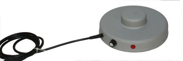Heating Plate with thermostat - Ø 19 cm with cone