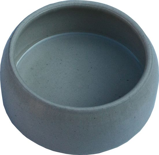 Food Bowl made of clay, glazed - 125ml