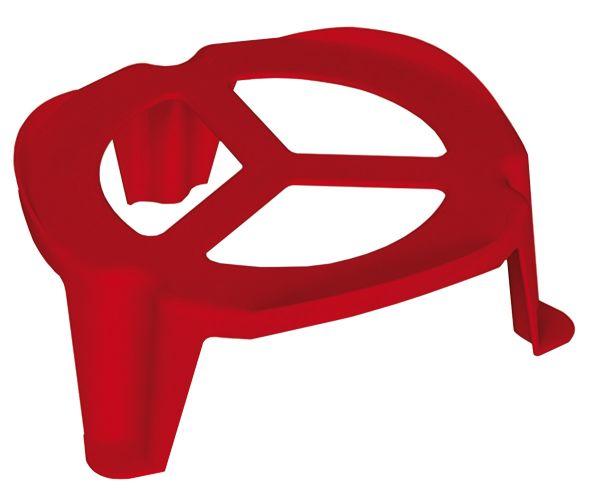 Plastic drinker mat (red) for Art. 01031, 65058, 41226