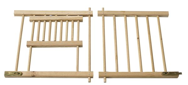 Grate for cages - wood