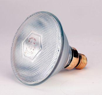 Wärmelampe - Infrarot - klar - Sparlampe (175 Watt) - Bild 1
