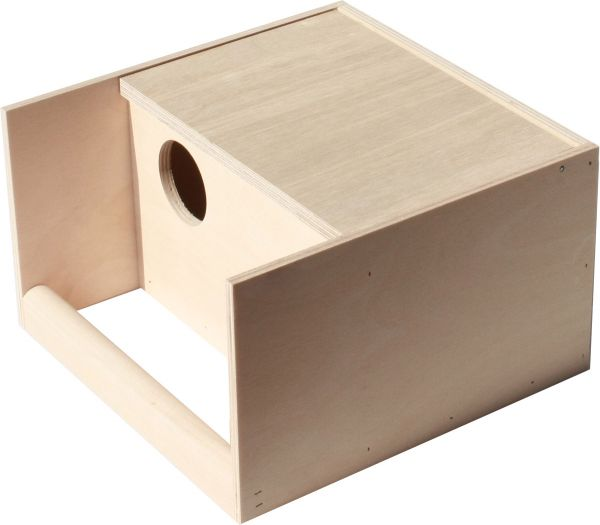 Nest box for budgies - 25 x 14 x 16 cm