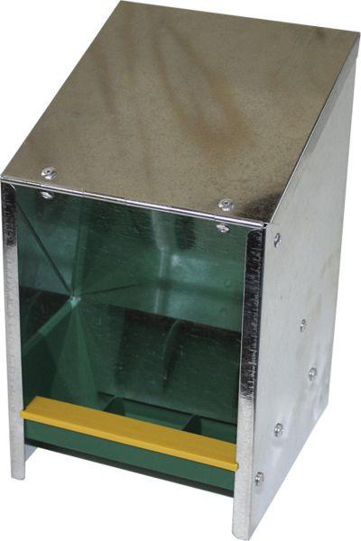 Futterautomat für Geflügel - verzinkt - (2,5kg)