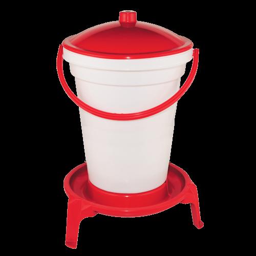Poultry drinker - bucket drinker - (24 l)