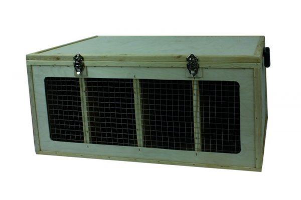 Transportkiste für mittelgroße Hühnerrassen - Bild 1