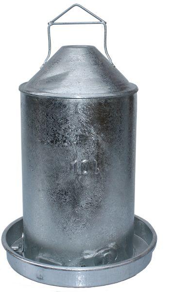 Poultry drinker - galvanized (10 l)