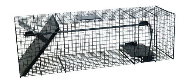 Lebendfalle - Katzenfalle - Wieselfalle (100 x 30 x 30 cm)