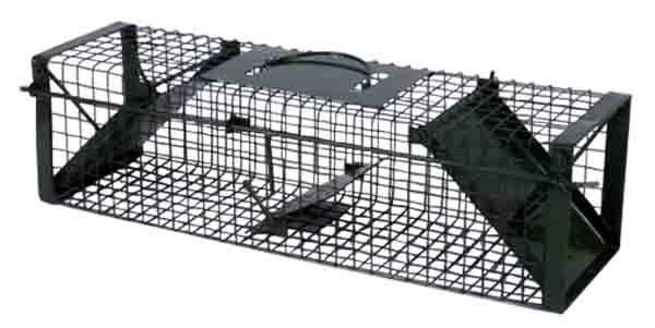 Lebendfalle - Rattenfalle - Iltisfalle (60 x 16,0 x 17,5 cm)