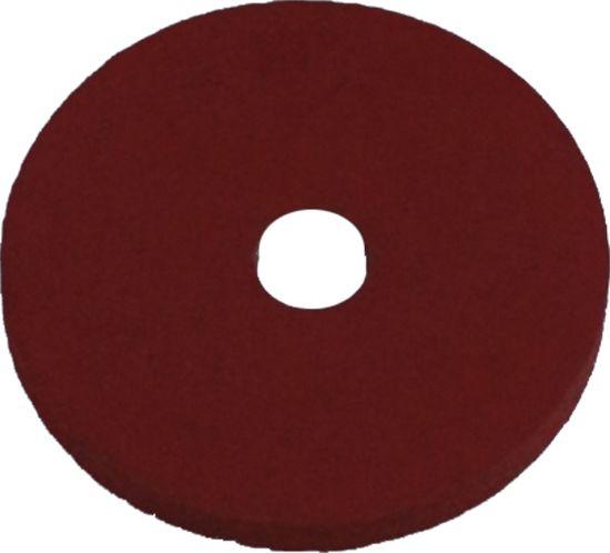 Rubber seal for aluminum cap